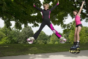 Kangoo Jumps are fun for parents and kids!